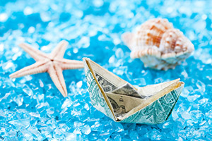 Money Boat and Shells