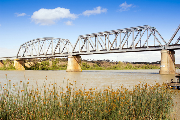 Murray River bridge