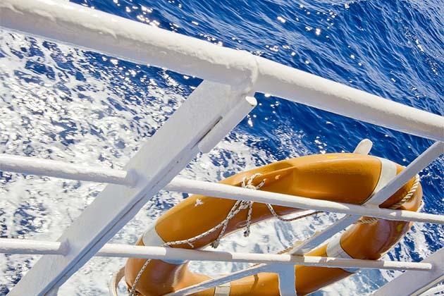 Cruise railing