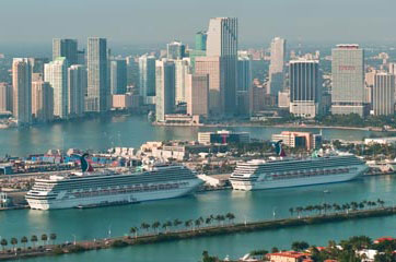 Miami (Florida) cruise port schedule | CruiseMapper