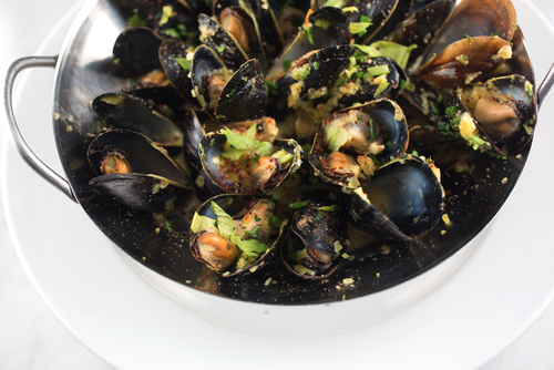 Mussels from Prince Edward Island
