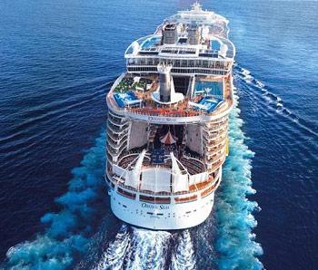 Largest Cruise Ship In The World List Detlandcom - Big cruise ship