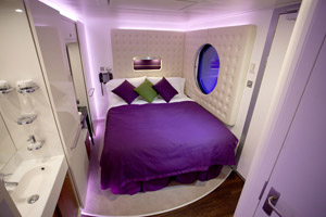 A Studio Cabin on a Norwegian Cruise Line Ship