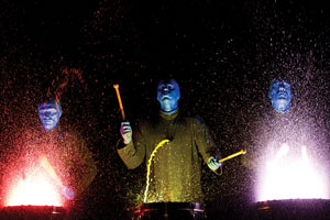 Blue Man Group - photo courtesy of NCL