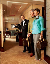 Butler Service on Cunard Cruise