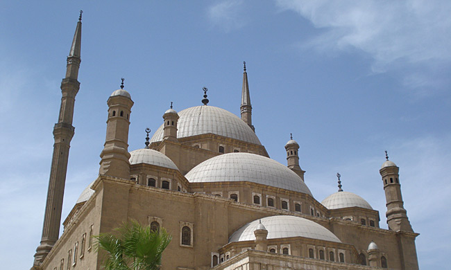 Cairo's Alabaster Mosque of Mohamed Ali