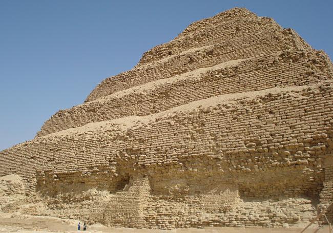 Sakkara Step Pyramid at Cairo
