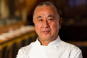 Chef Nobu Matsuhisa Looking at the Camera