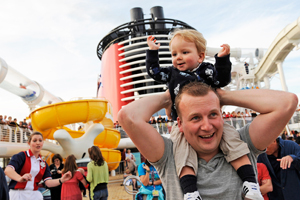 disney dream deck party