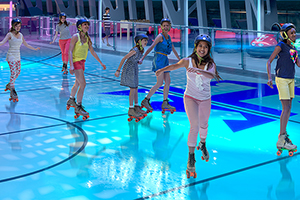Royal Caribbean Kids Skating