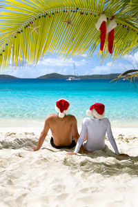 Holiday Couple on Beach