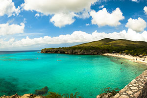 Playa Kenepa Grandi Beach on Curacao