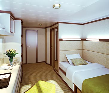Redirected p o cruises 39 azura photos new cruise ship for Which cruise line has single cabins