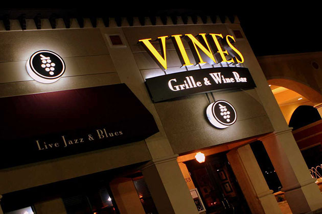 vines grille and wine bar in orlando