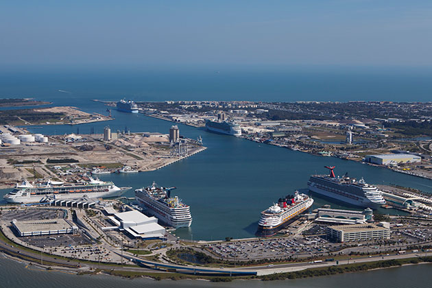 ships docked at port canaveral