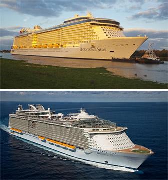 Oasis of the Seas vs. Quantum of the Seas: a Cruise Ship ... Oasis Of The Seas Comparison