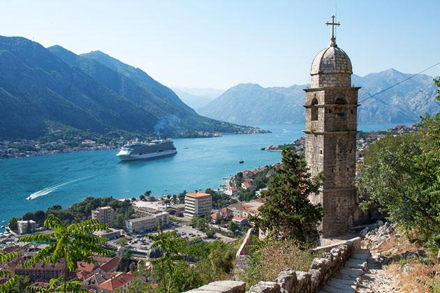 Kotor bay fjord cruise