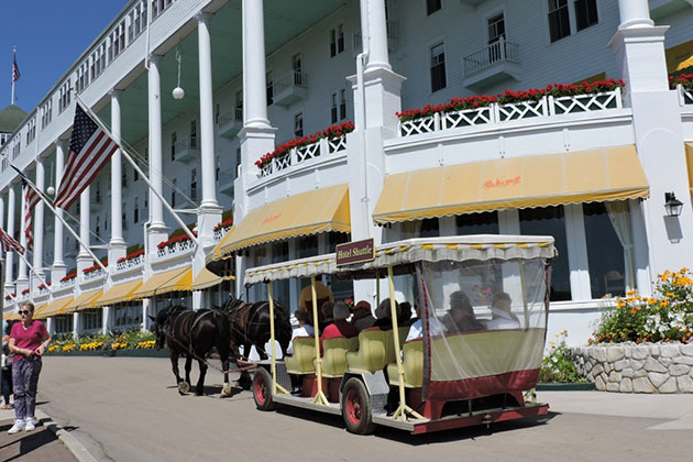 Grand Hotel, Mackinac Island, Michigan