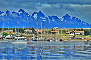 Port of Ushuaia, Argentina