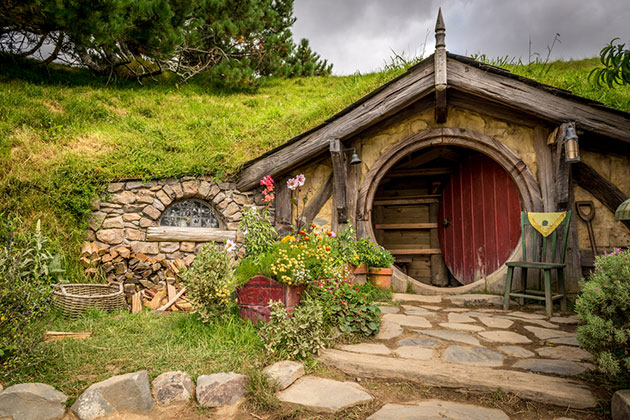 Hobbiton, Shire, New Zealand.