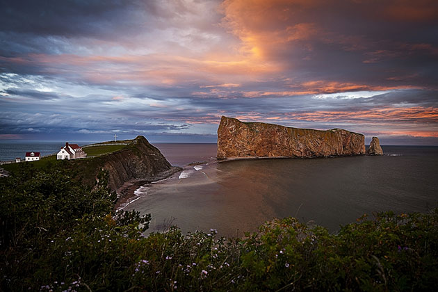 Perce Rock, Gaspe, Canada