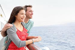 Couple on deck - photo courtesy of Maridav/Shutterstock