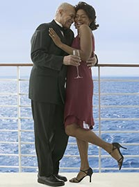 Couple dancing on deck - photo courtesy of Blend Images/Shutterstock