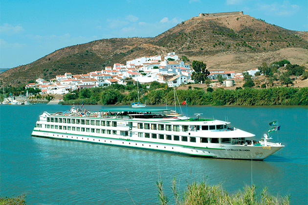 CroisiEurope's MS Belle river ship.