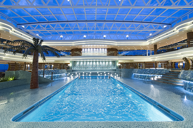 MSC Preziosa's Top 18 Exclusive Solarium (Photo: MSC Cruises)