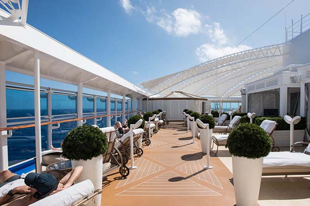 The Sanctuary on Regal Princess (Photo: Cruise Critic)