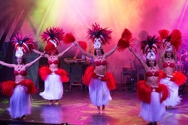 Entertainment at Norwegian Cruise Line's Hollywood Theater