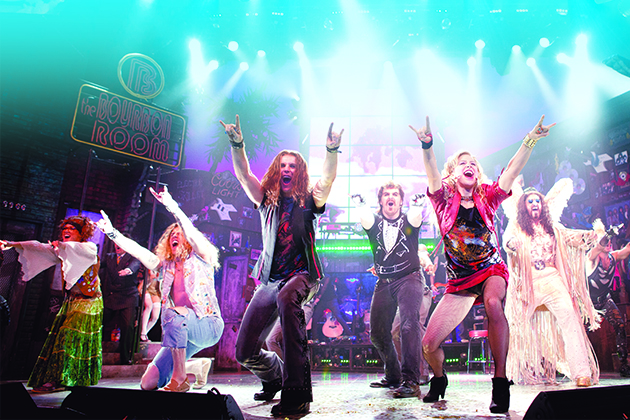 'Rock of Ages' on Norwegian Cruise Line.