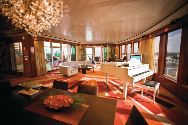 Best Cruise Ship Suites Cruise Critic - Best rooms on a cruise ship carnival