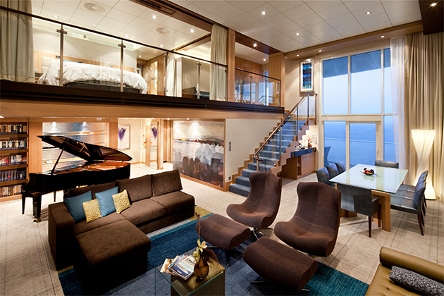 Best Cruise Ship Suites Cruise Critic - Rooms on cruise ships