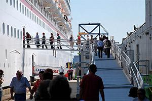 Carnival Ship Boarding