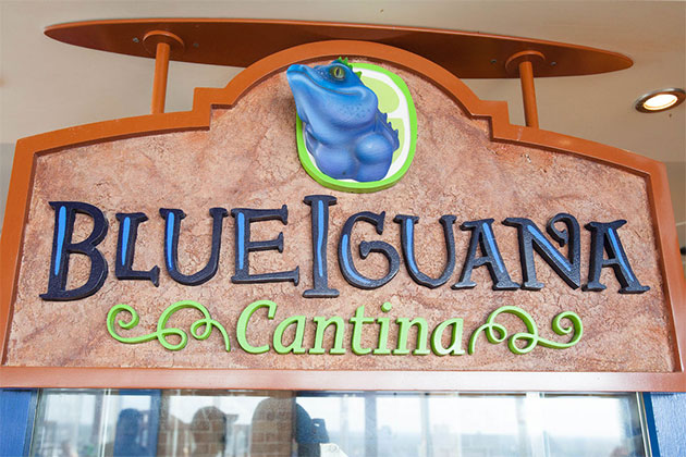 Carnival Cruise Line - BlueIguana Cantina