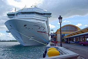 Carnival Victory docked in Sau Juan