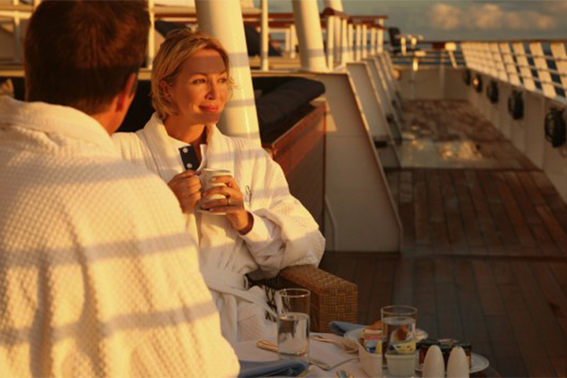 SeaDream cruise couple
