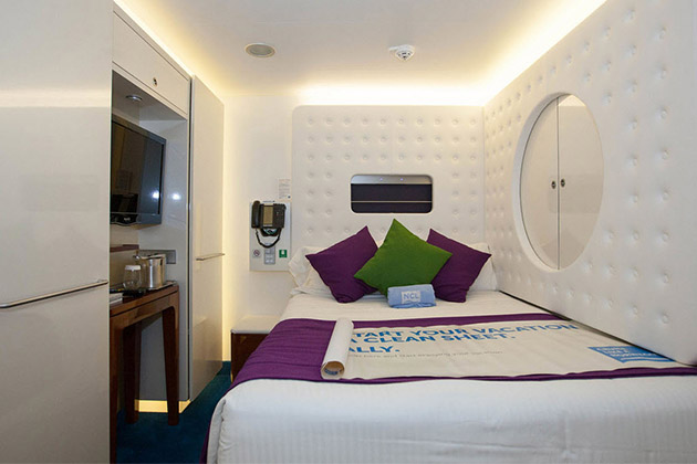 Studio Cabin on Norwegian Getaway.