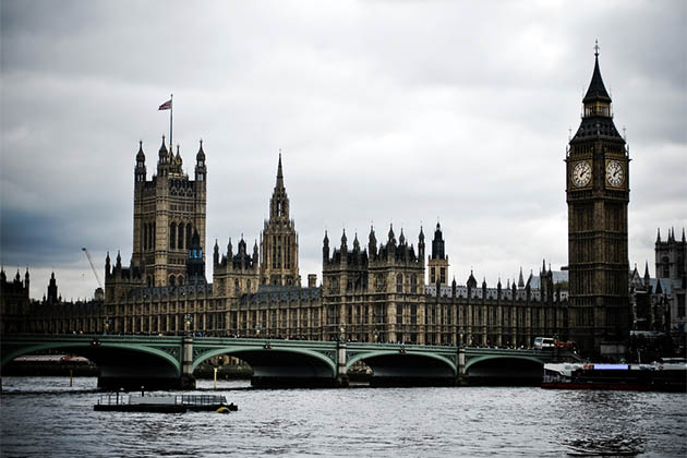 London's Houses of Parliament