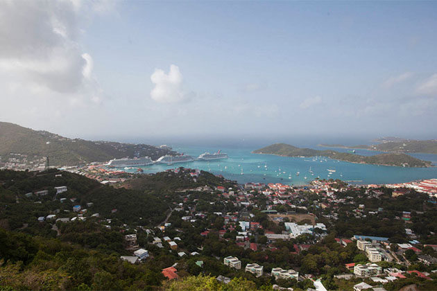 St. Thomas in the Eastern Caribbean