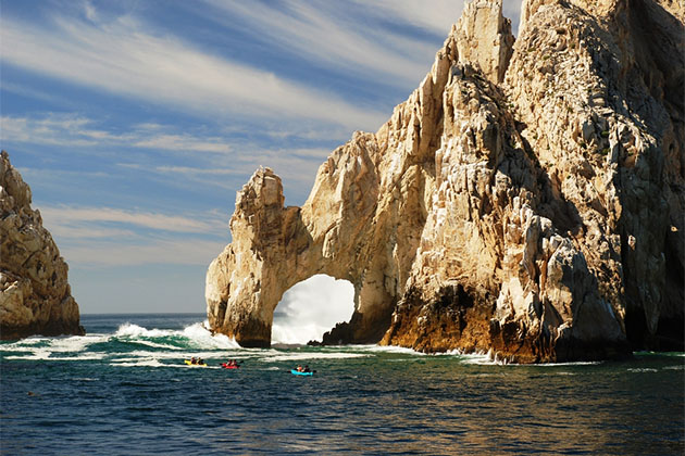 Cabo San Lucas in the Mexican Riviera