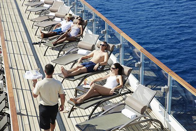 Seabourn sun deck