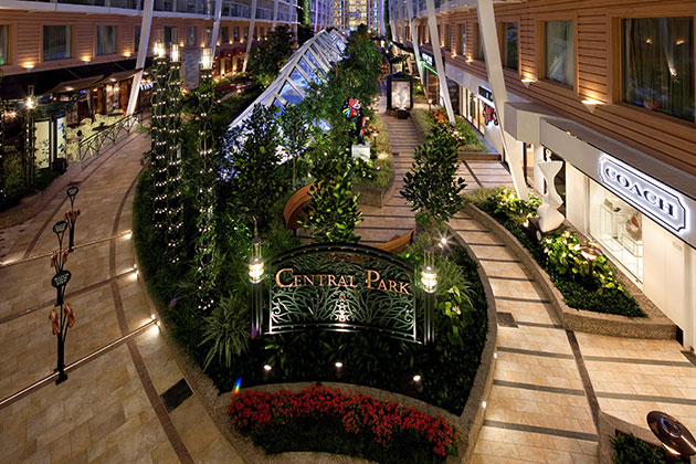 Allure of the Seas - Central Park