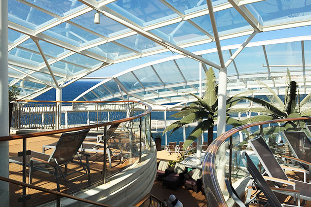 Allure of the Seas - Solarium