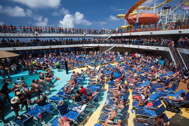 Image result for cruise ship crowd