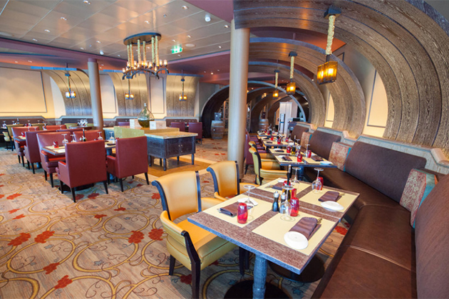 Tuscan Grille onboard Celebrity Cruises.