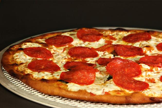 Pizzeria del Capitano onboard Carnival. .