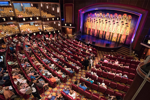 Arcadia Theater on Royal Caribbean's Freedom of the Seas