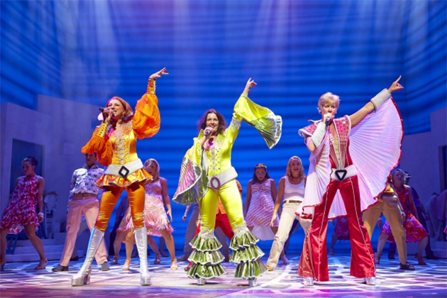 Royal Caribbean's 'Mamma Mia!' production.